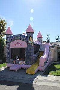 Girls Castle Combo Bouncer