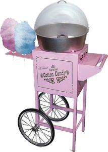 Pink Cotton Candy Maker